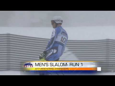 2017 Men's SL Run 1- ALPINE