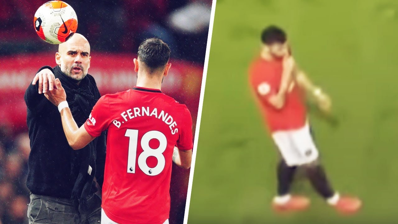 Bruno Fernandes silenced Guardiola with arrogant gesture in Man Utd's win over Man City | Oh My Goal