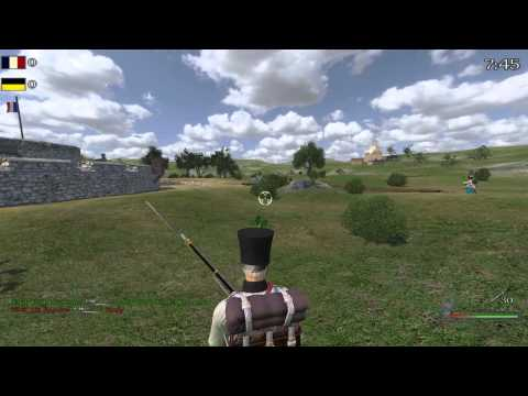 Mount and Blade Warband Napoleonic Wars Game 2 Getting Owned by Clannies |