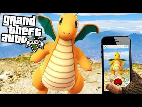 POKEMON GO MOD (GTA 5 Mod Komik Anlar)
