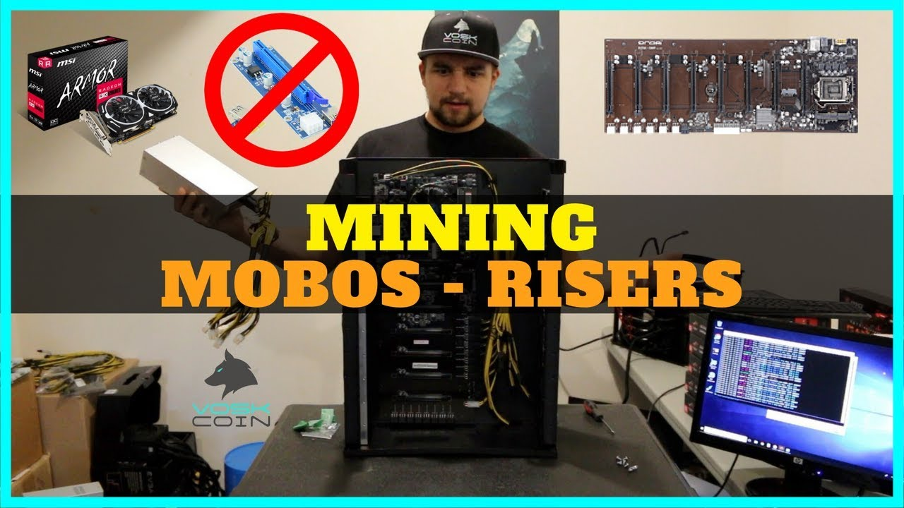 Are Riserless Mining Motherboards better than PCIE Risers? The Future of  BEST Mining Rigs?