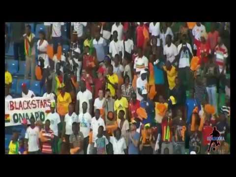 أهداف مباراة غانا 1 - 0 أوغندا من كأس أمم إفريقيا 2017 بالغابون