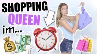 NUR 1 STUNDE Zeit, um alles einzukaufen! ♡ SHOPPING CHALLENGE! BarbaraSofie