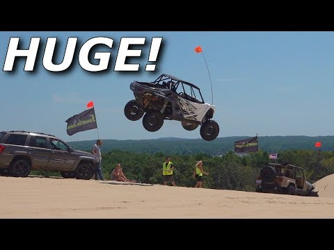 beast-mode-x3-rips,-yxz-destroys-itself,-turbo-s-goes-huge!-dunes!