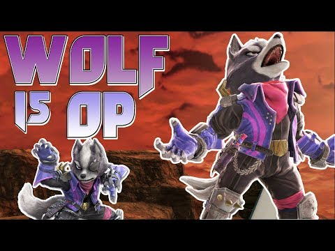 WOLF IS OP! - Smash Bros. Ultimate Montage thumbnail