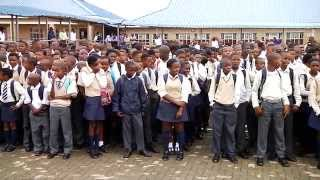 Deputy President Cyril Ramaphosa visits Soshanguve South Secondary School