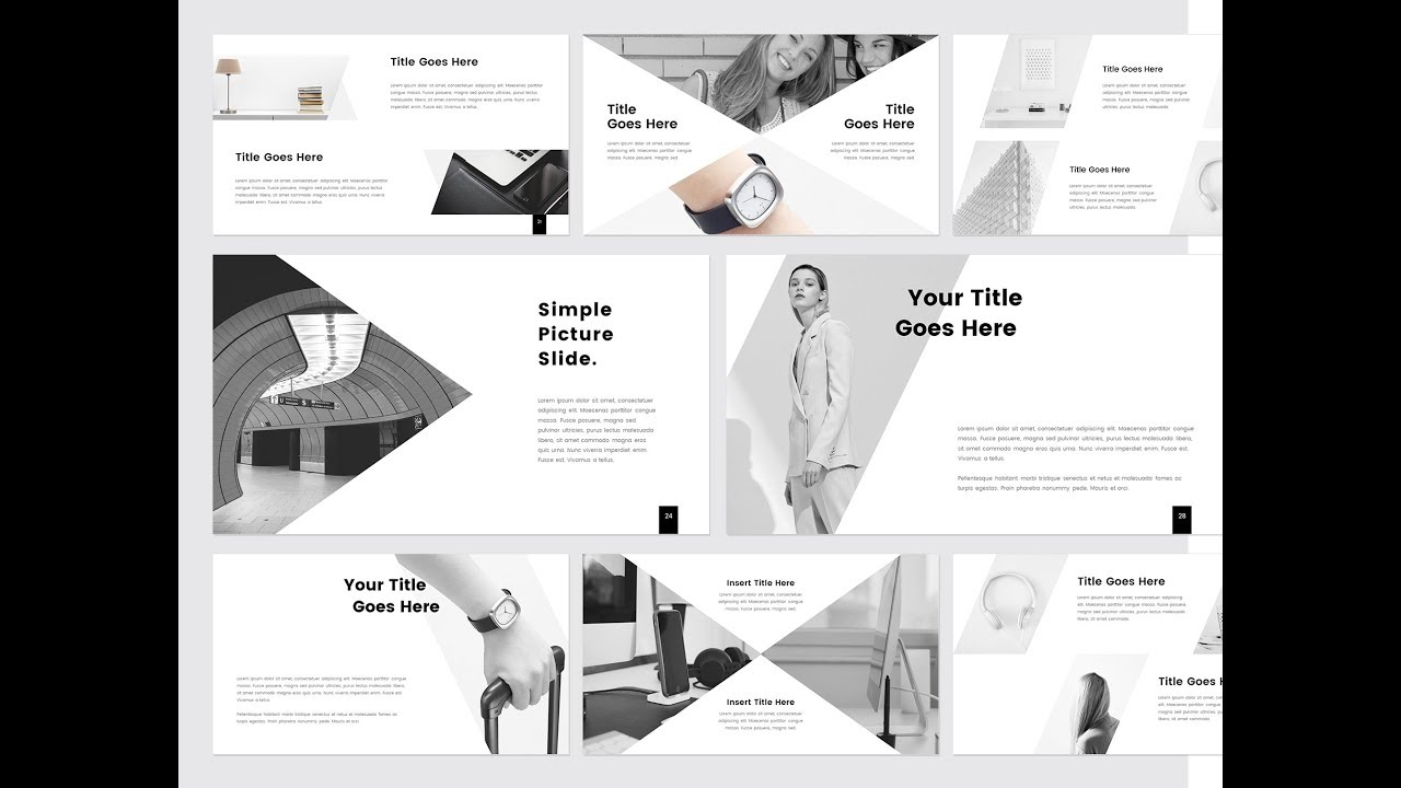 prothom creative minimal powerpoint template youtube