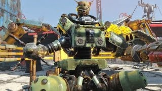 Fallout 4 Automatron DLC Pack 3rd Live Stream 1080p 60fps Gameplay, Part 3 4