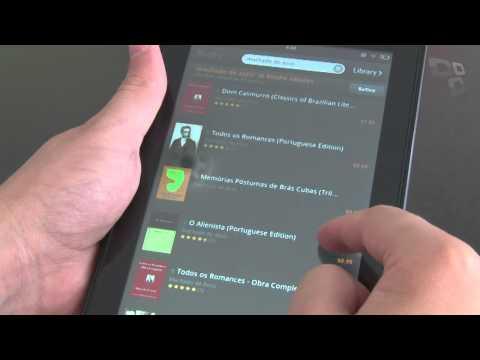 Análise de Produto - Amazon Kindle Fire - Tecmundo