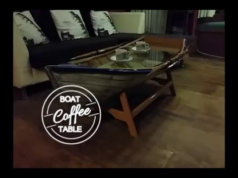 Charmant Boat Coffee Table