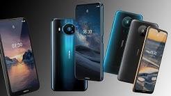 Nokia HMD alle neuen Smartphones 2020 (Nokia 8.3, 5.3, 1.3) Details, Bilder & Infos