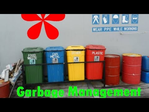 WASTE MANAGEMENT AT PORT OF ROTTERDAM | HOW SHIPS DISCHARGE WASTE/GARBAGE