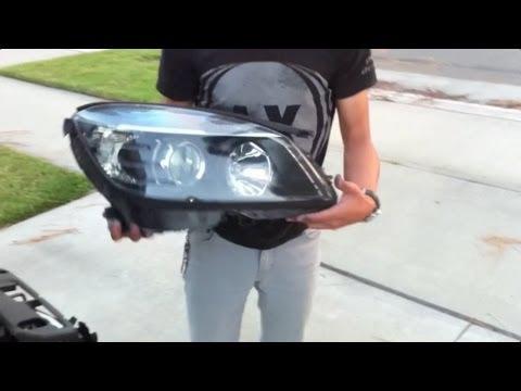 W204 Headlamp Removal DIY (Abridged 5:00 Min Edit)