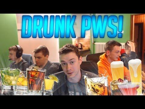 DRUNK BOOTCAMP S PWS! OCHUTNÁVKY KOKTEJLŮ
