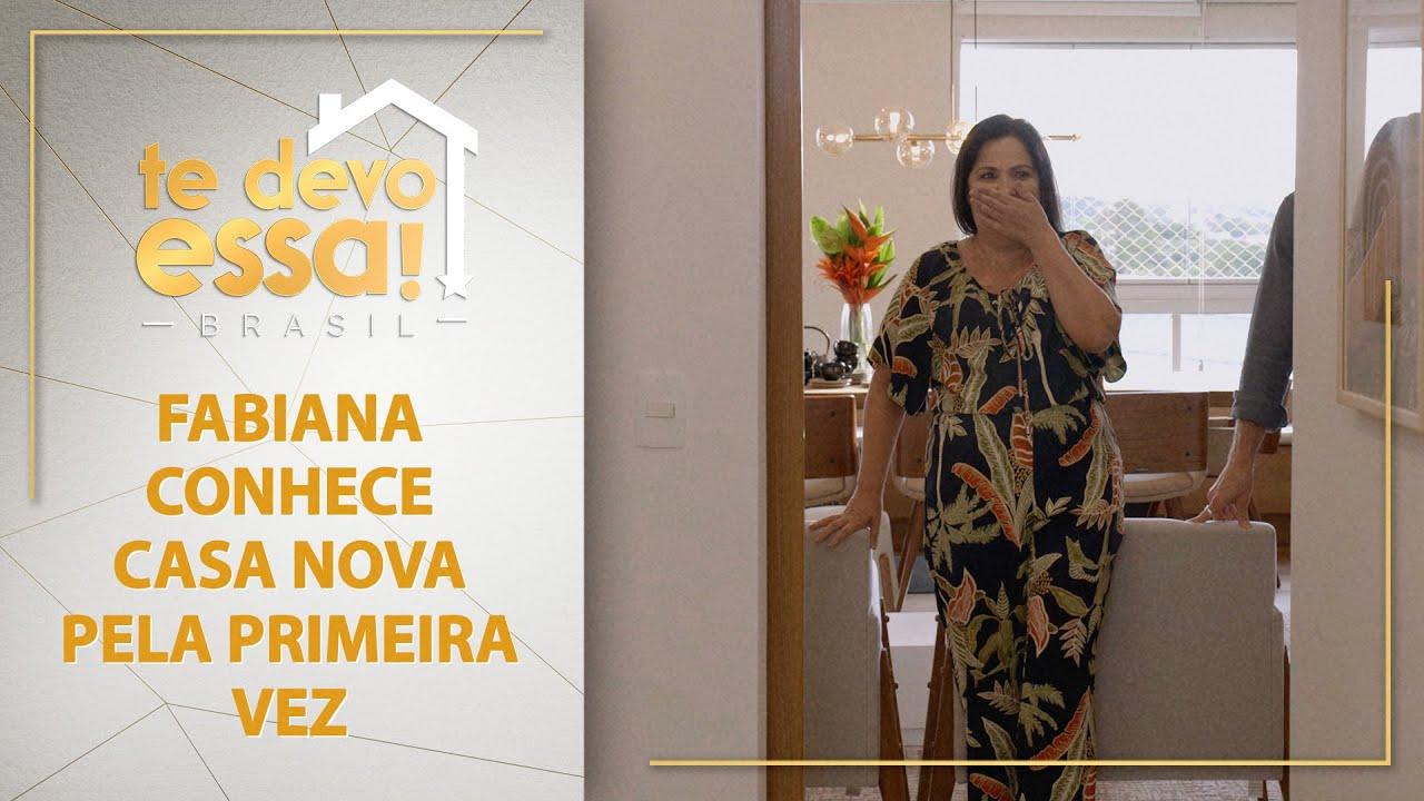 Fabiana conhece casa nova pela primeira vez | Te Devo Essa! Brasil (13/06/21)