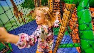 Follow Us Around at Leo's Lekland Indoor Play Center (indoor playground family fun for kids)
