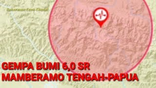 Download Video GEMPA BUMI 24 JUNI 2019  BERKEKUATAN 6.0 MAGNITUDO DI  TENGGARA MAMBERAMO TENGAH-PAPUA MP3 3GP MP4