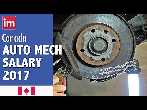 Auto Mechanic Salary in Canada | Jobs in Canada (2017)