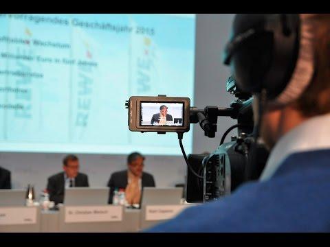 REWE Group mit Rekordergebnis // Bilanz-Pressekonferenz ...