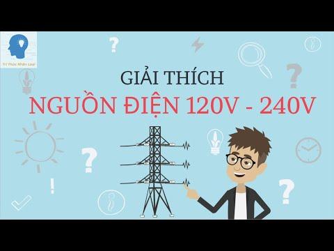 Giải thích điện xoay chiều 120V