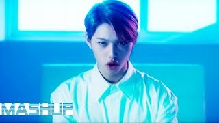 EXO/NCT/STRAY KIDS - District 9/Cherry Bomb/Black on Black/Mama/Boss ( MASHUP ♪ )