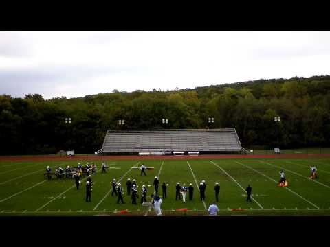 NJ Rutherford High School Marching Band 10-6-12