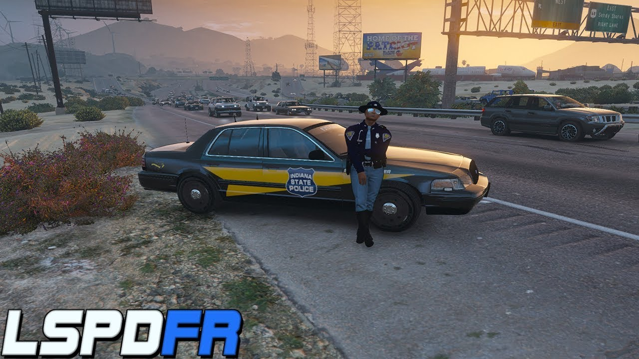 Stop The Ped Lspdfr