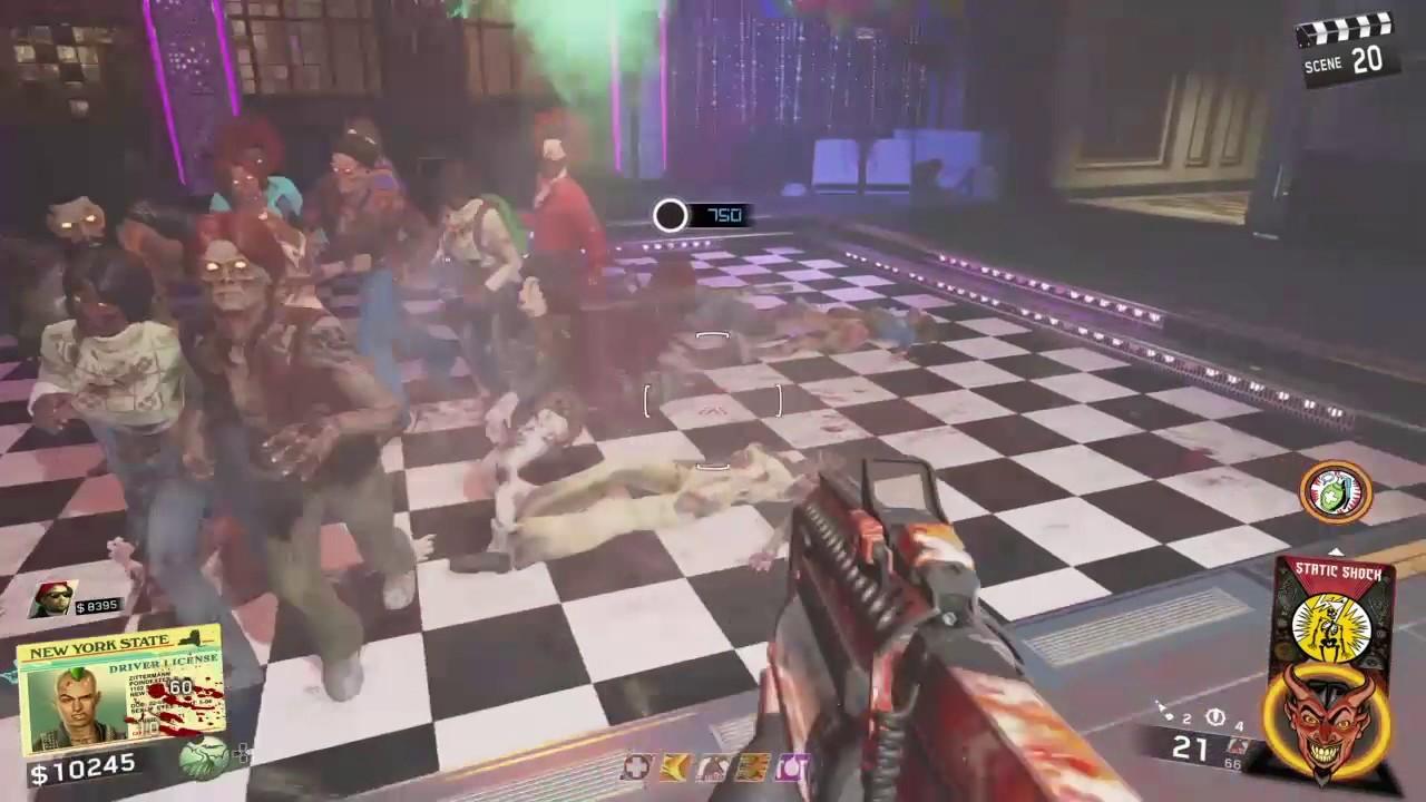 SHAOLIN SHUFFLE - Disco Dancing Zombie