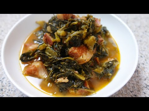 Collard Greens Salt Pork Collard Greens