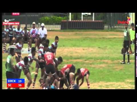 Dharmaraja College vs Science College - Schools Rugby 2015