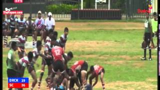 Dharmaraja College vs Science College - Schools Rugby 2015