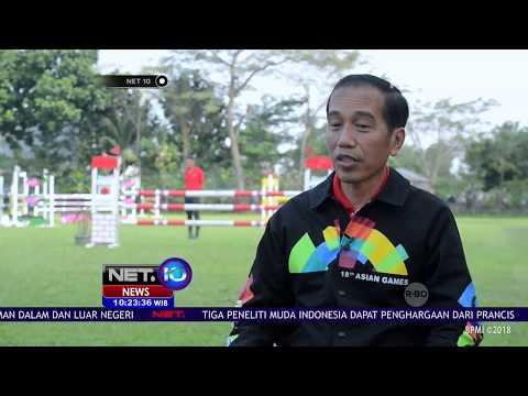Presiden Jokowi Promosikan Asian Games Melalui Desain Jaketnya - NET 10