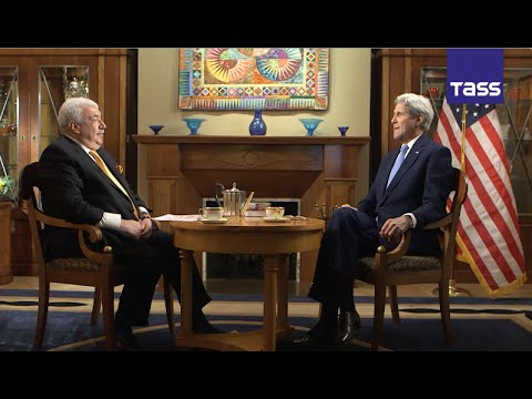 US Secretary of State John Kerry in interview with TASS First Deputy Director General Mikhail Gusman