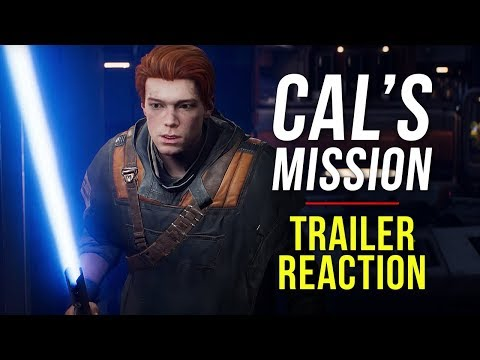 """star-wars-jedi:-fallen-order-""""cal's-mission""""---trailer-reaction-&-review"""