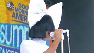 Download Sia - Unstoppable LIVE GMA Performance