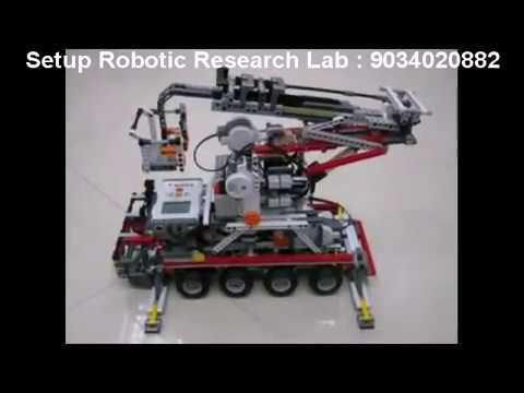 Microsoft Robotic, Robotic training, B.Tech Project, Robotic Arm, Robot India, robot delhi