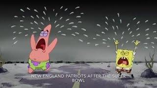 All 32 NFL Teams Portrayed By Spongebob