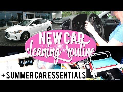 new-car-cleaning-routine- -summer-car-essentials- -2018-hyundai-elantra