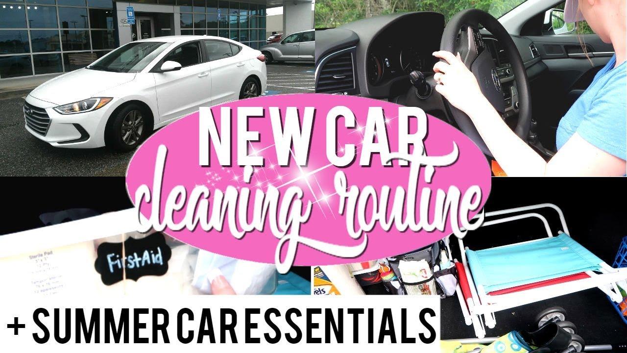 Hyundai Elantra: Cleaning