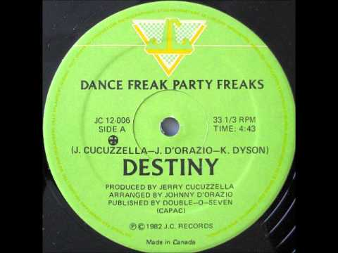 DESTINY - Dance Freak, Party Freaks