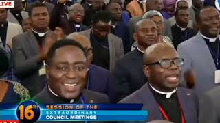 Hot praises by the church of Pentecost