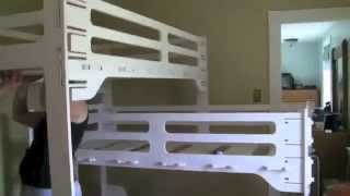 Triple Bunk Bed Made With The Shopbot Cnc Router - With Cut Files