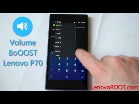 Speaker volume boost Lenovo P70 with Engineer Mode