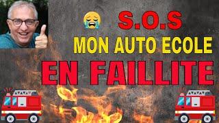 LEÇON 26 _ MON AUTO-ÉCOLE A FAIT FAILLITE !!! QUE FAIRE ?