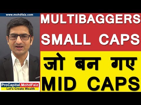 MULTIBAGGERS -  SMALL  CAPS जो बन गए MID CAPS