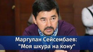 """Маргулан Сейсембаев: """"Моя шкура на кону"""""""