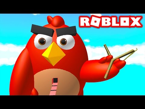 ANGRY BIRDS IN ROBLOX!