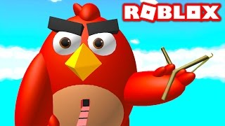 ANGRY BIRDS IN ROBLOX! (Roblox Angry Birds Obby)