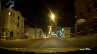 Sho-Me A7-GPS/GLONASS Ночная съемка   Product-test.ru