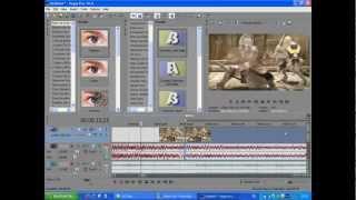 Туториал Видео уроки Sony Vegas Pro 10 и 11 Часть 2